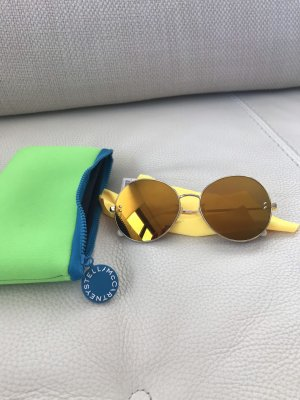 Stella McCartney Gafas de sol redondas color oro