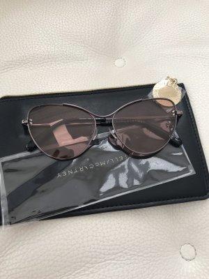 Stella McCartney Okulary retro srebrny-szary