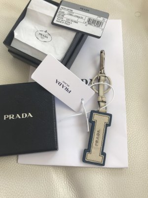 NEU Luxus Prada Milano Designer Saffiano Keyring Tasche Charm Schlüsselanhänger