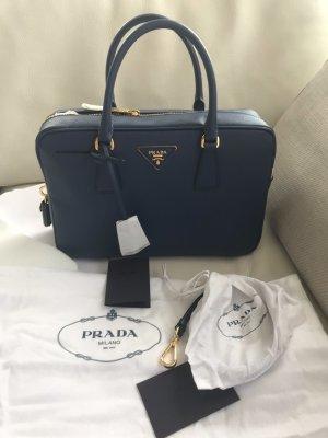 NEU Luxus Prada Milano Designer Saffiano Lux Bauletto Bag Tasche