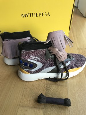 NEU Luxus Valentino Garavani Tribe Indiana Sneaker Schuhe 42