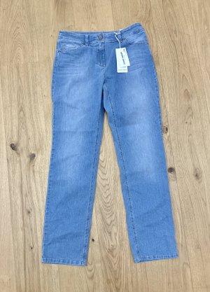 NEU m Etikett blaue 5 Pocket Jeans v Gerry Weber Edition Danny 38R/ M