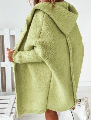 stylelistic Cappotto a maglia verde pallido-verde chiaro