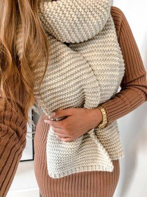 stylelistic Bufanda de punto beige-camel