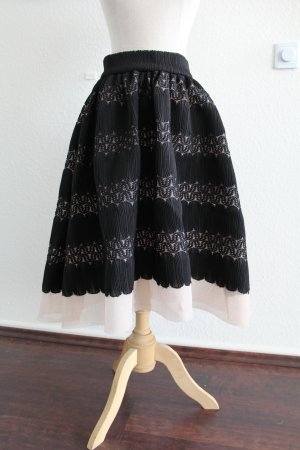 Maje High Waist Skirt black