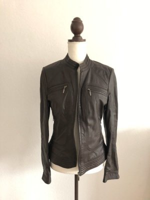 Manguun Leather Jacket multicolored leather