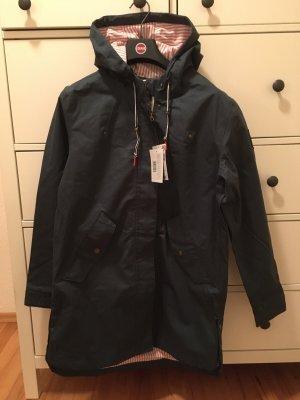 Derbe Heavy Raincoat dark blue-blue