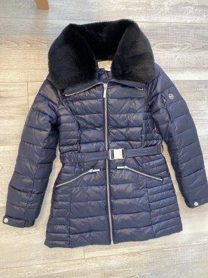 Michael Kors Hooded Coat dark blue
