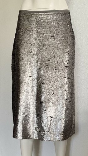 Neu Marc O'Polo Rock Pailletten grau/silber Gr. M