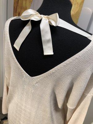 NEU ❤️ Massimo Dutti Pullover Feinstrick creme ❤️ L 40