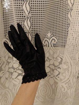 NEU Mattschwarze Handschuhe (Gr. M)