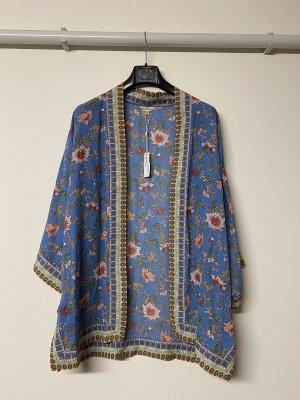 Max Studio Kimono azul celeste