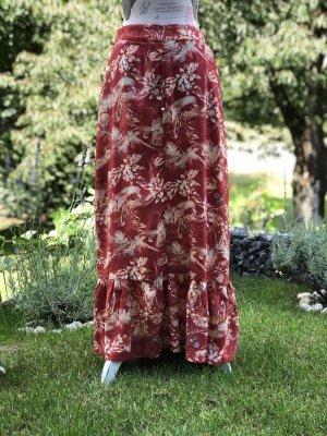 Minus Maxi Skirt cognac-coloured