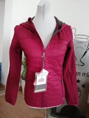 McKinley Norweska dzianinowa kurtka purpurowy