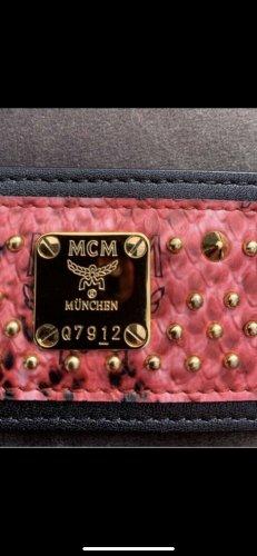 Neu MCM Armband Nieten Gold Luxus Selten