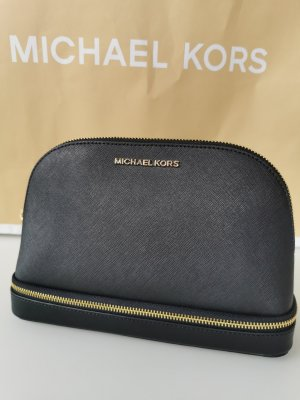 *Neu* Michael Kors Beauty Case / Clutch schwarz NP 150€