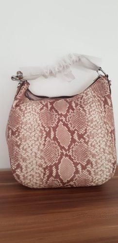 Neu Michael Kors Fulton 2Way Leather Python Shoulder Bag