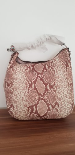 Neu Michael Kors Fulton 2Way Leather Python Shoulder Bag