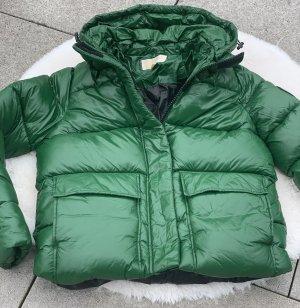 Michael Kors Chaqueta con capucha verde bosque