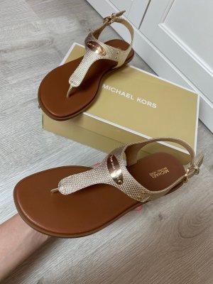 Michael Kors Toe-Post sandals multicolored