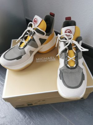 *Neu* Michael Kors Sneaker Olympia Trainer Canvas NP 215€