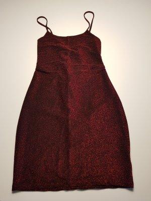 Neu Mini-Kleid Gr. M schwarz mit Glitzer