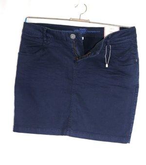 Neu Minirock Jeansrock Rock Stretch sòliver Größe M 40 Dunkelblau Marine Blau Jeans Style