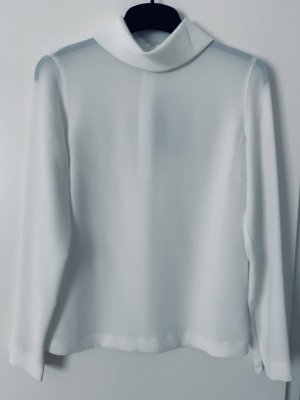 Windsor Stand-Up Collar Blouse white