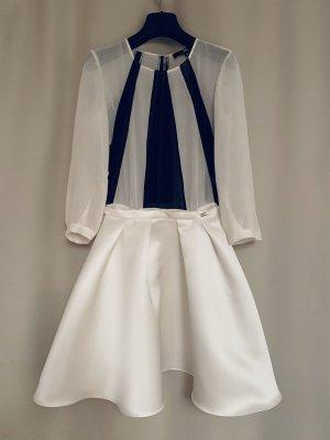 NEU mit Etikett 490€ Elisabetta Franchi Kleid aus Seide Seidenkleid XS S 34 40