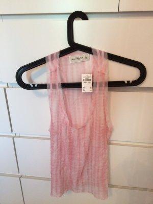 Neu mit Etikett Abercrombie & Fitch Blusentop in rosa, Preis verhandelbar