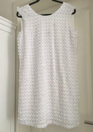 Armani Exchange Robe mi-longue blanc