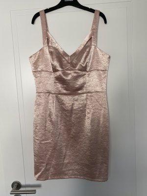 NEU MIT ETIKETT: Bodycon Kleid in rosa Glitzeroptik aus London von Miss Selfridge