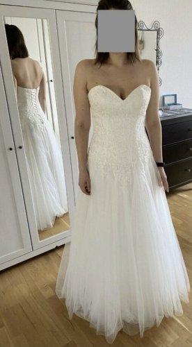 Neu mit Etikett: Brautkleid Hochzeitskleid A-Linie Tüll