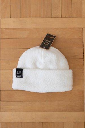 Burton Cappello in pelliccia bianco