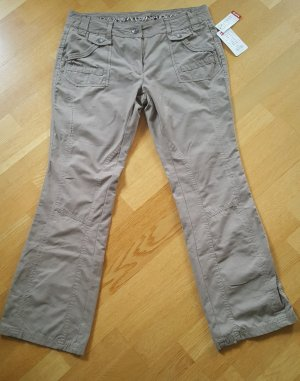 NKD Pantalone cargo cachi-grigio-verde Cotone