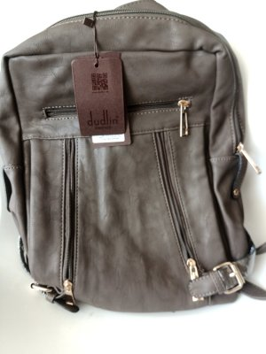 Dudlin Backpack Trolley grey brown