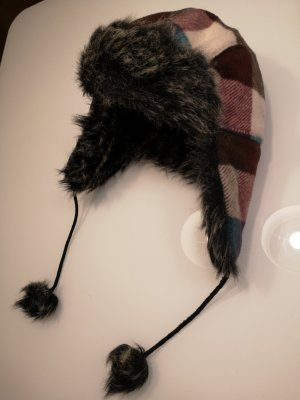 Seeberger Fur Hat multicolored