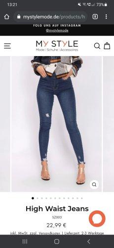 neu mit etikett high waist jeans