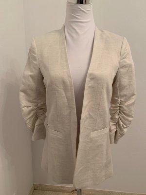 Neu, mit Etikett! Long-Blazer von H&M, 36, offen, hellbeige