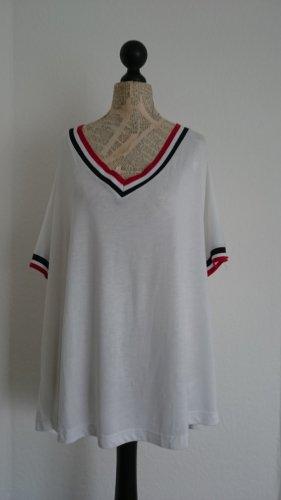 Neu mit Etikett, Longshirt mit V-Ausschnitt, Größe 48, NP 20 Euro