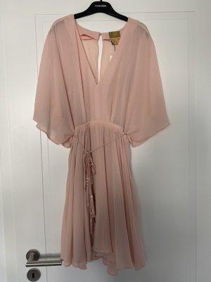 NEU MIT ETIKETT: Luftiges Kleid mit Fledermausärmeln in rosa von H&M
