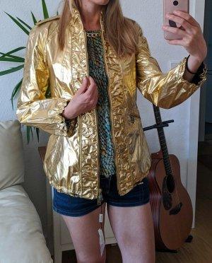 Burberry Bluzon złoto-czarny