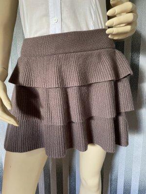 Orsay Plaid Skirt grey brown