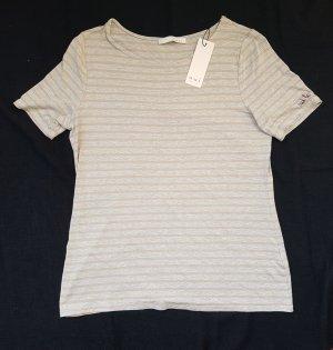 Oui Camiseta gris Viscosa