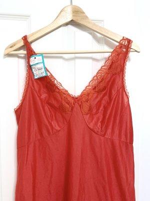 True Vintage Negligé rojo ladrillo-rojo oscuro poliamida