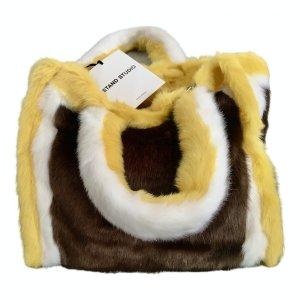 Neu ✨mit Etikett: tolle, geräumige Kuschel Tasche, faux fur, Stand Studio, ausverkauft!