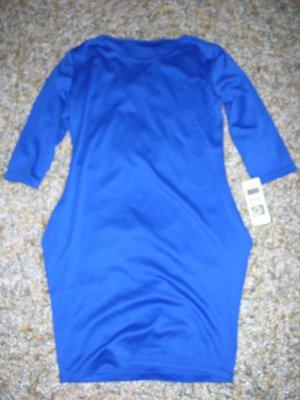 Neu mit Etikett! Tolles Kleid von Bass in Blau, Gr. S/36