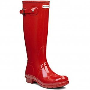 Hunter Wellies red