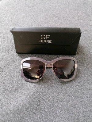 Neu moderne Sonnenbrille von Gianfranco Ferre grau/silber