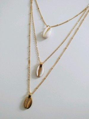 Keine Marke Shell Necklace multicolored